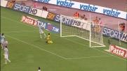 La staffilata di Caceres porta in vantaggio la Juventus contro la Lazio