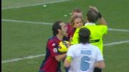 Kucka trattiene Cana e regala il rigore alla Lazio