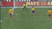 Il piede di Rosati salva il Lecce dal goal di Zarate, che parata!