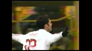 Doppietta di Ricardo Kakà e il Milan allunga sul Bologna