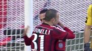 Il goal su rigore di Pazzini chiude i conti a San Siro contro il Cesena