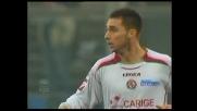 Il Livorno accorcia le distanze dall'Atalanta col goal di Pfertzel