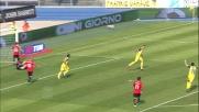 Thereau segna un goal fortunoso al Bentegodi