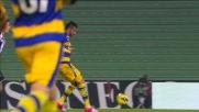 Palladino segna il goal del pareggio tra Udinese e Parma con un bel pallonetto