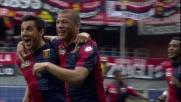 De Maio si fa valere in area e segna il goal del vantaggio contro l'Udinese