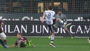 Donnarumma devia sopra la traversa un bel tiro d'esterno di Marchisio