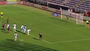 Cossu segna su rigore in Cagliari-Atalanta