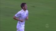 Il tentativo di Pasalic contro il Palermo finisce sull'esterno della rete