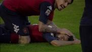 Il secondo goal di Sau con il Genoa vale i 3 punti per i sardi