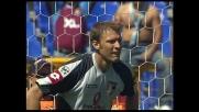 Goran Pandev segna su rigore in Lazio-Palermo