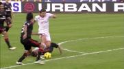 L'ex Kutuzov punisce il Milan con un pregevole goal al San Nicola