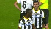 Badu esagera con le proteste e si fa espellere contro l'Inter