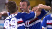 Guberti raddoppia per la Sampdoria sfruttando l'errore di Muslera