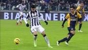 Alvaro Morata prova senza successo un suggerimento con il tacco