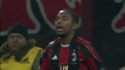 Antonioli blocca Robinho e chiude la porta al goal del Milan