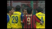 Braccio largo di Malagò, è rigore per il Milan a San Siro