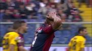 De Maio sfiora il goal a Marassi: traversa contro il Parma