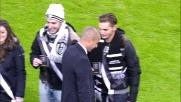 Trezeguet presente allo Juventus Stadium in occasione del match con il Milan