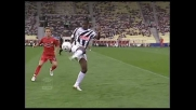 Passaggio spettacolare col tacco di Asamoah contro l'Ascoli