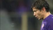 Fernandez prende la mira ma sfiora solo l'incrocio della porta difesa da Belec