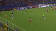 Il tackle duro da dietro di Ivan costa il rosso al giovane centrocampista della Sampdoria
