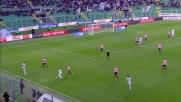 La parata di Sorrentino sul tiro potente di Badu salva il Palermo