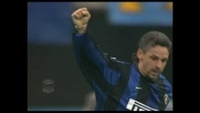 Super goal di Roberto Baggio contro la Roma
