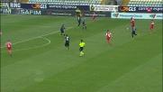 Sportiello manda in corner la gran conclusione di Bianco in Carpi-Atalanta