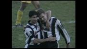 Bierhoff punisce il Parma realizzando il secondo goal personale