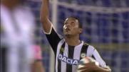 Muriel è imprendibile per la difesa della Lazio e realizza il goal con scavetto