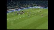 Con uno stacco imperioso Stam segna il goal del 2-2 nel derby di Milano