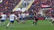 Antonelli rianima il Milan con uno splendido goal in rovesciata contro il Frosinone