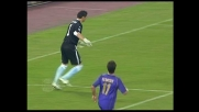Dribbling da brivido di Carrizo nella sua area di rigore contro la Fiorentina