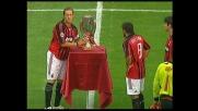 L'orgoglio del Milan: a San Siro arriva la Supercoppa europea vinta col Siviglia