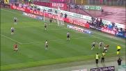 Espulsione di Radu nel derby per una testata a Fabio Simplicio