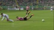 Rispoli aggancia Lestienne e recupera palla