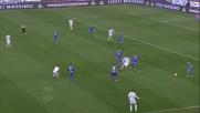 Mario Rui stende Dionisi in area con un tackle: rigore per il Frosinone