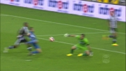 Karnezis abbassa la saracinesca dell'Udinese parando la conclusione di Saponara