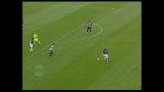 A Udine Figo alza troppo la mira e il suo tiro termina alto