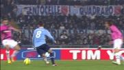 Hernanes sprona la Lazio con un sombrero in disimpegno