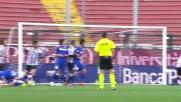 Basta trattiene Missiroli e l'arbitro assegna il rigore al Sassuolo