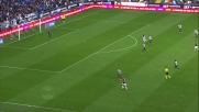 Belotti segna in scivolata contro l'Udinese ma è fuorigioco