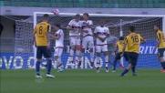 Il meraviglioso goal su punizione di Siligardi regala la vittoria casalinga al Verona nella sfida contro il Milan