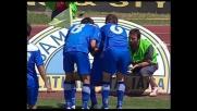 Super goal di Vannucchi, l'Empoli è in vantaggio sulla Reggina
