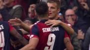 Simeone segna una doppietta in 13' alla Juventus