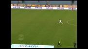 Corsa verso il goal di Pandev, ma sbaglia incredibilmente da solo davanti a Castellazzi!