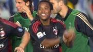 Il goal di Robinho regala il successo al Milan contro il Brescia