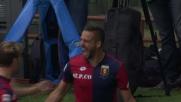 Pavoletti porta in vantaggio il Genoa nel derby della Lanterna