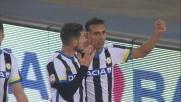 Di Natale e Thereau confezionano il goal che vale il blitz esterno dell'Udinese