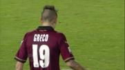 Brkic nega il goal a Greco con una bella parata sul primo palo